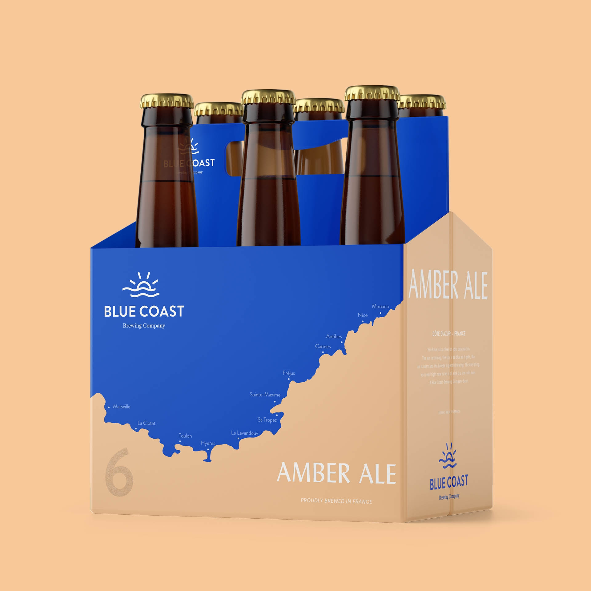 Blue Coast Brewery – Branding
